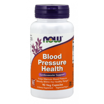 Blood Pressure Health 90 веге капсули | Now Foods