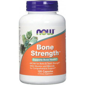Добавка за костите Bone Strength 120 капсули | Now Foods