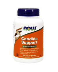 Candida Support против гъбички 90 капсули | Now Foods