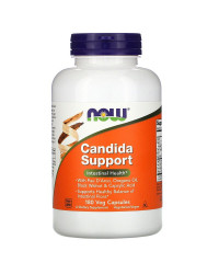 Candida Support против гъбички 180 веге капсули | Now Foods