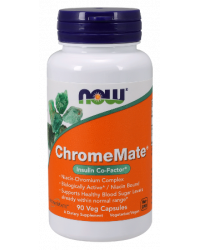 Chromemate 200 mkg 90 kapsuli | Now Foods