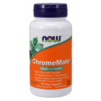 Chromemate 200 mcg 90 vcaps I Now Foods