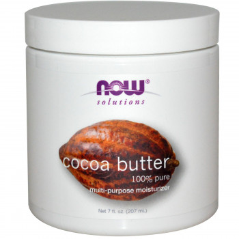 Какаово масло (Cocoa Butter) 207 мл I Now Foods
