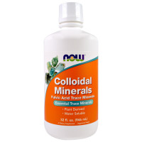 Colloidal Minerals 946 ml I Now Foods