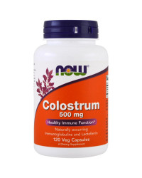 Colostrum 500 мг 120 веге капсули | Now Foods