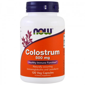 Colostrum 500 mg 120 capsules Now Foods