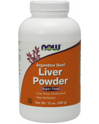 Desiccated Liver Powder (прах)  340 гр | Now Foods