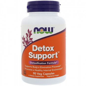 Detox Support 90 capsules I Now Foods