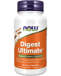 Digest Ultimate 60 веге капсули | Now Foods