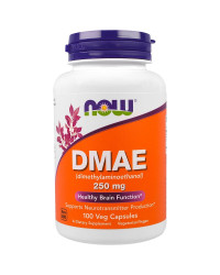 DMAE 250 мг 100 капсули | Now Foods