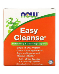 Easy Cleanse Kit AM 60 капсули / PM 2x60 веге капсули | Now Foods