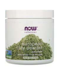 European Clay Powder 170 гр | Now Foods