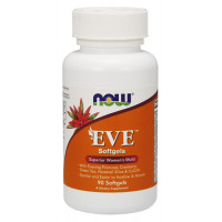 Eve Women's Multiple Vitamin 90 гел-капсули   Now Foods