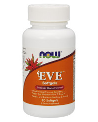 Eve Women's Multiple Vitamin 90/180 гел-капсули | Now Foods