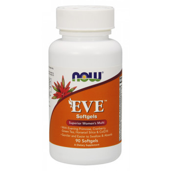 Eve Women's Multiple Vitamin 90 гел-капсули | Now Foods