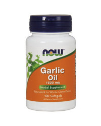 Garlic Oil 1500 мг 100 гел-капсули | Now Foods
