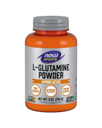 Glutamine Powder 170 гр | Now Foods