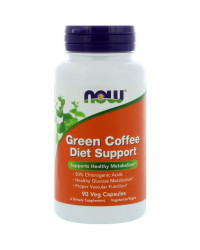 Green Coffee Diet Support 90 капсули Now Foods
