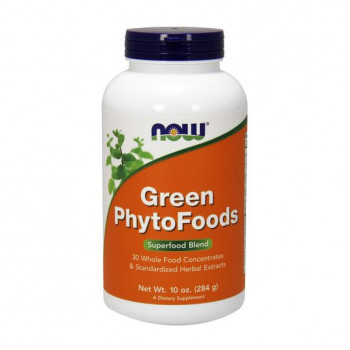 Зелени храни Green Phyto Foods Прах 284 гр Now Foods