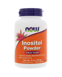 Инозитол на прах (Inositol Powder) 57/113 гр Now Foods