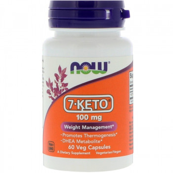7-KETO DHEA100 мг 30/60 капсули Now Foods