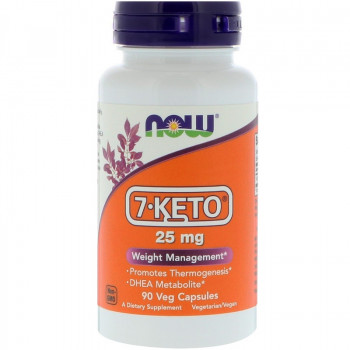 7-KETO 25 мг 90 капсули Now Foods