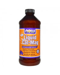 Liquid Cal-Mag Blueberry 473 мл I Now Foods