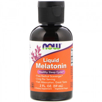 Liquid Melatonin 3 mg 59 ml | Now Foods