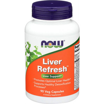 Liver Refresh 90 капсули | Now Foods