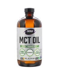 MCT Oil 473/946 мл | Now Foods