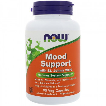 Mood Support with St. John`s Wort 90 капсули I Now Foods