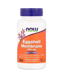 Natural Eggshell Membrane 500 мг 60 веге капсули | Now Foods