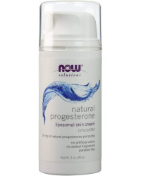 Natural Progesterone Cream 85 гр | Now Foods