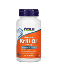 Neptune Krill Oil 500 мг 60 гел-капсули | Now Foods