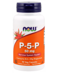 P-5-P 50 мг 90 капсули | Now Foods