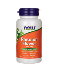 Passion Flower 350 mg 90 Veg Capsules | Now Foods