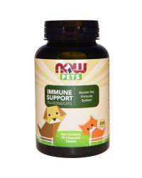 PET Immune Support 90 tablets I Now Foods