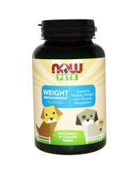 PET Weight Management 90 tablets I Now Foods
