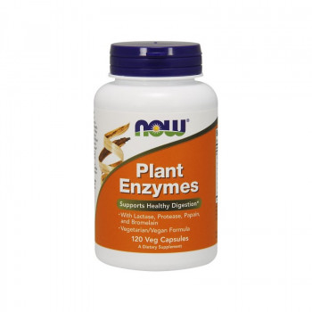 Plant Enzymes 120 веге капсули | Now Foods