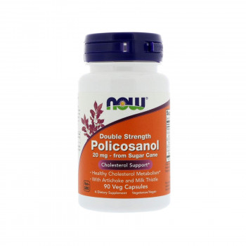 Policosanol 20 mg 90 capsules | Now Foods