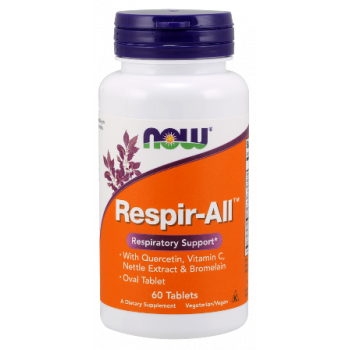 Respir-ALL Allergy 60 таблетки I Now Foods