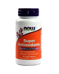 Super Antioxidants 60/120 веге капсули | Now Foods