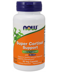 Super Cortisol Support 90 капсули | Now Foods