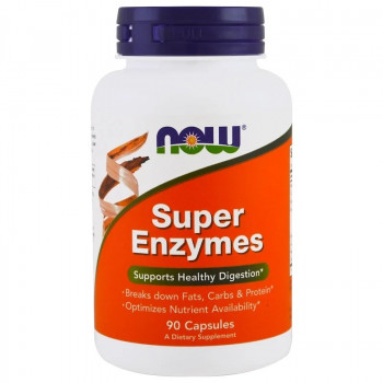 Super Enzymes Капсули | Now Foods
