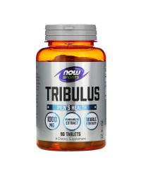 Now Foods Tribulus 1000 мг 90/180 таблетки | Now Sports