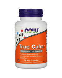 True Calm Amino Relaxer 90 веге капсули | Now Foods