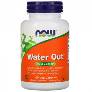 Water Out 100 веге капсули | Now Foods
