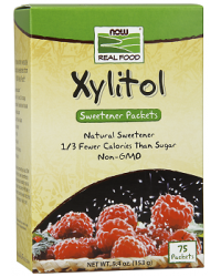 Xylitol 153 gr 75 packets Now Foods