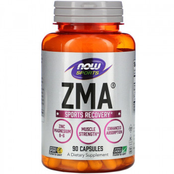 ZMA 800 мг 90/180 капсули | Now Foods