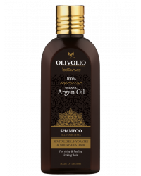 Argan Oil Shampoo All Hair Types 200 мл | Olivolio